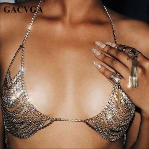 Gold Body Jewelry Bra Cover